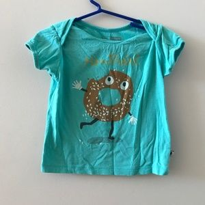 Montréal Bagel Teal T-shirt